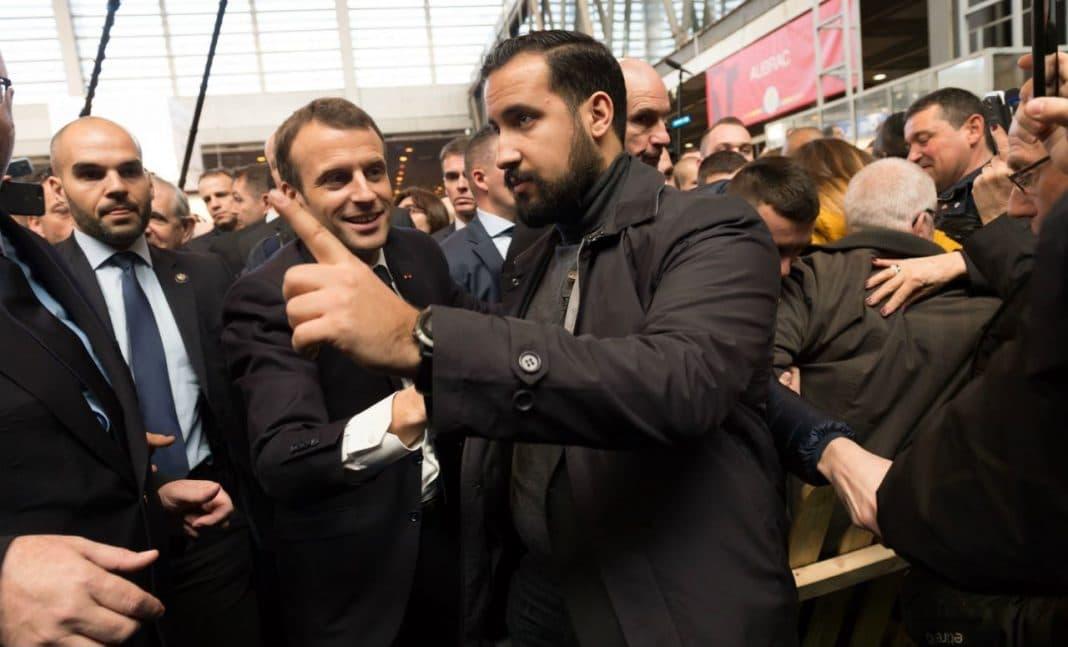 Alexandre Benalla Service Protection Macron