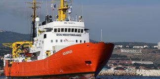navire aquarius sauvetage migrant