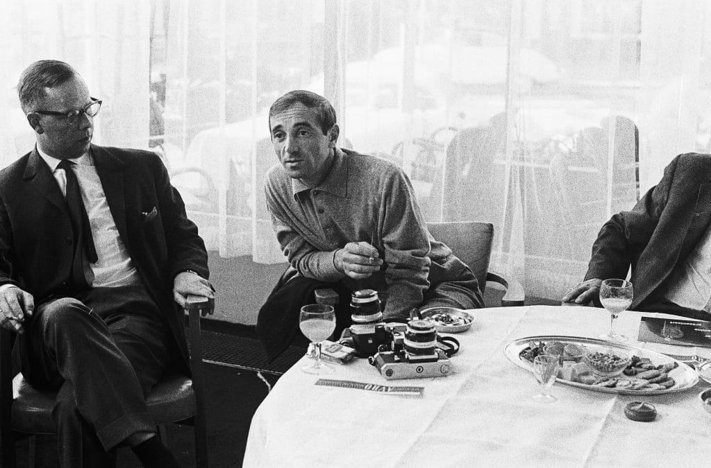Aznavour jeune, au début de sa carrière