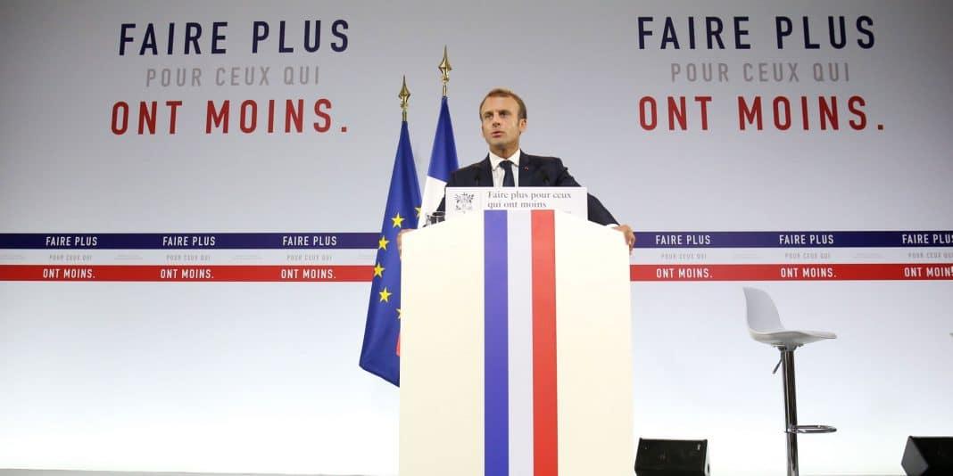Plan pauvreté Macron 2018