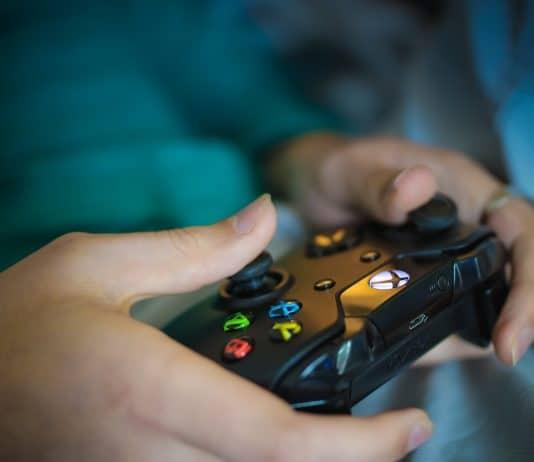 manette de console de jeux type playstation
