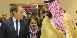Macron Prince MBS Arabie Saoudite France