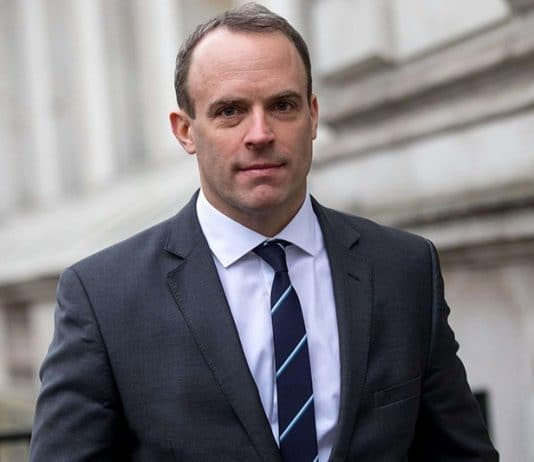 Dominic Raab Ministre Brexit