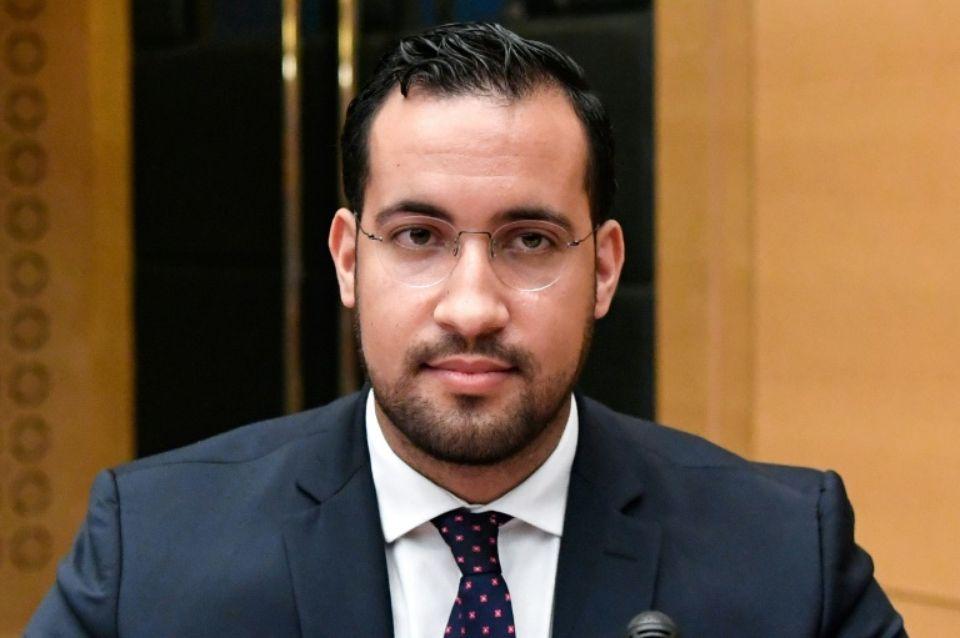 Alexandre Benalla Photo de face au Senat