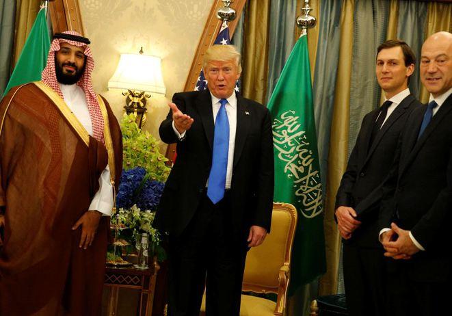mbs arabie saoudite trump