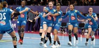 l'équipe féminine de handball française
